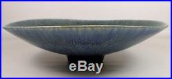 11.5 Vtg Carl Harry Stalhane Rorstrand Mid Century Modern Sweden Pottery Bowl