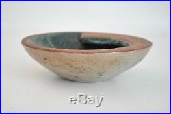 1949 Eugene Deutch Vtg Mid Century Modern Studio Art Pottery Bowl Dish Chicago