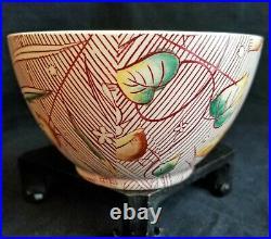 2# Vintage 1940 Vernon Kilns Walt Disney Autumn Ballet Soup Bowls, Excellent