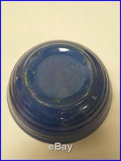 4-piece Set Vintage Bauer Ringware Pottery Bowls 3 Colors
