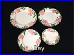 59 pcs. Vintage Franciscan Desert Rose Plates Bowls Cup Saucers