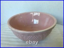 5 Pc Vintage Pastel Pink Blue Yellow Pottery Bowl Set Robinson Ransbottom