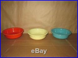 (63) Vintage Pieces Fiesta Ware Plates Casserole Mugs Bowls Chop Plates Gravy++
