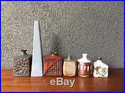 6 Ceramic Japanese Vase Japan Vintage Bowl MID Century Modern Ikabana Eames Era