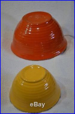 AWESOME Vintage 6 piece Bauer Nesting Bowls Full Original Set- Best Ive seen