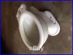 Antique Crane Mauretania Toilet Bowl Vintage