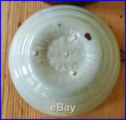 Bauer Pottery Vtg. 40s Ringware Design Nesting Mixing Bowls Complete Set of 6