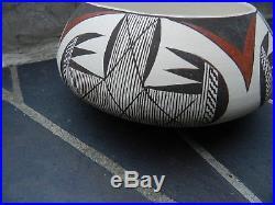 Beautiful Vintage Hopi Dextra Quotskuyva Nampeyo Pottery Bowl, Estate Find