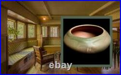 Beautiful Vintage Rookwood Dusty Rose Abstract Rook Art Pottery Bowl, Circa 1920