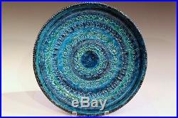 Bitossi Rimini Blue Londi Italian Pottery Raymor Illums Vintage Ceramic Bowl 14