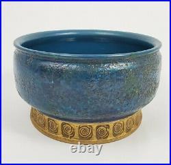Bitossi Rosenthal Netter Cinese Bowl Italian Pottery Mid-Century Italy Vintage