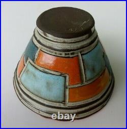Boyan Moscov Original Vintage Signed Studio Art Pottery Bowl Bulgaria