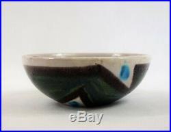 Ceramic bowl, Guido Gambone, Italy, 50s, vintage