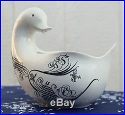EVA ZEISEL Mid Century Monmouth Duck VTG Ironstone Bowl Schmid NKT Design Japan