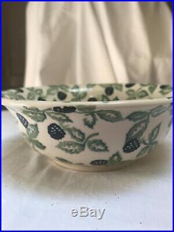 Emma Bridgewater Blackberry Cerealbowl, discontinued, Vintage Spongeware
