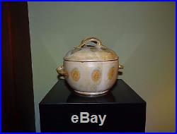 Frances Senska / Vintage Lidded Bowl