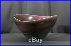 Fine vintage Mark Bell signed bowl American Studio modern