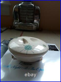 Franciscan Atomic Starburst 6 Cherry Bowl, Antique, Rare. Vintage. Retro. Pottery