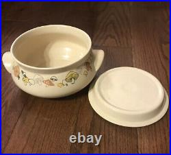Franciscan Woodlore Mushrooms Dish Gravy Bowl Coffee Cup Vintage Pottery Lot