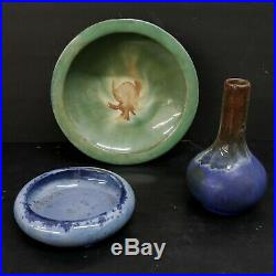 Fulper Vintage Large Low Bowl