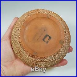 Gertrude & Otto Natzler Vintage Mid-century Modern Studio Art Pottery Bowl