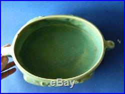 HUGE Vintage Australian Melrose Pottery 36cm Possum Bowl 1930s Art Deco