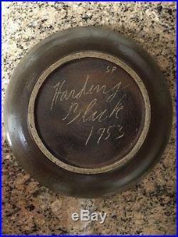 Harding Black 1953 Bowl Texas Vintage Pottery