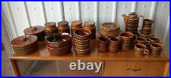 Hornsea Heirloom Vintage Retro Stunning Large Collection Coffee Set Plates Bowls