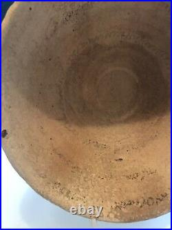 Incantation Bowl In Aramaic Text And Jug Excavated From Israel Antiquities