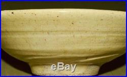 Japanese Rice Bowl Tea Cup OLD Pottery Antique Soup dish Vintage Art Japan c538