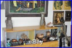 Joel Edwards Vtg Mid Century Modern Ceramic Studio Pottery Vase Bowl California