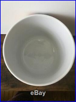 Jonathan Adler Vintage Sgraffito Ice Bowl Bucket Jar Large