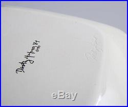 Lot of 3 Early Original Signed Dorothy Hafner Bowl Plates VTG Tiffany and Co