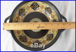 Lot of 7 Beautiful Vintage Gouda Pottery Bowl, Serving Dish, Vase & Plates