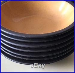 MIKASA Terra Stone PAPRIKA Vintage Rare Multiple Bowls & Plates Dinner JAPAN