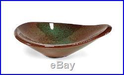 Mod Vintage Jade Snow Wong San Francisco California Studio Art Pottery Bowl Dish
