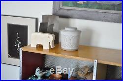 Martz Vtg Mid Century Modern Ceramic Studio Pottery Lid Bowl Planter California