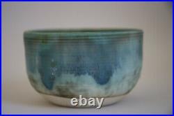 McCarty Jade Merigold Vtg Mid Century Studio Pottery Mississippi Mud Bowl