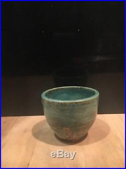 McCarty pottery-vintage, signed cup/bowl