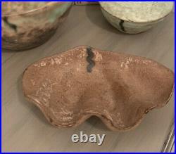 Mccarty pottery vintage Nutmeg Shell