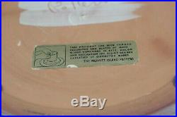 Mel Casper Merritt Island Pottery 15 Bowl Nude Tribal Picasso Style Vintage
