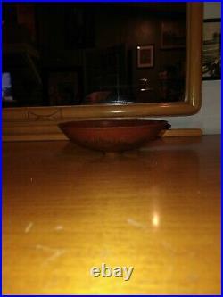 NATZLER Gertrude and Otto Natzler Studio Pottery Bowl RARE VINTAGE
