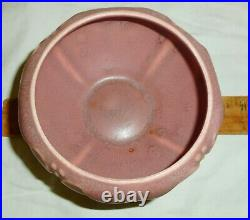 Nice Vintage 1926 Rookwood Small Mauve Bowl #2099 with Flower Frog