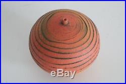 Nicholas Bernard Vtg Mid Century Modern Ceramic Studio Pottery Wave Bowl Vase
