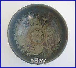 Old Pottery Bowl VINTAGE PETROSCAN MAJOLICA GLAZE OHIO POTTERY DISH