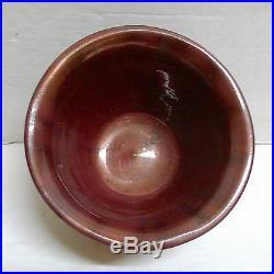 Pewabic Iridescent Copper Bowl Vintage