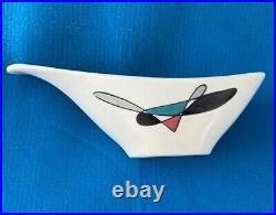 Poppytrail By Metlox Bowl Contempora 1950s Vintage Made In USA