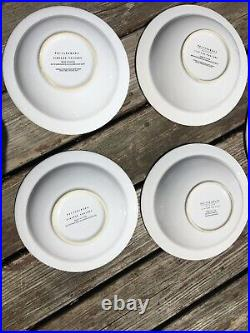 Pottery Barn 2002 Vintage Large Posters Pasta Serving Bowls Set 9 Baron Curio
