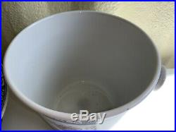 Pretty Vintage Losol Ironstone Wash Set 6 Items Wash Bowl Jug Slop Bucket Etc