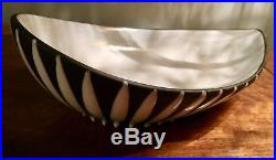 RARE UPSALA EKEBY SWEDEN SCANDINAVIAN ART POTTERY BOWL Vase Vintage Mid Century